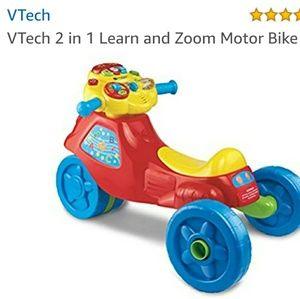 Vtech 2 in 1 motor bike NEW